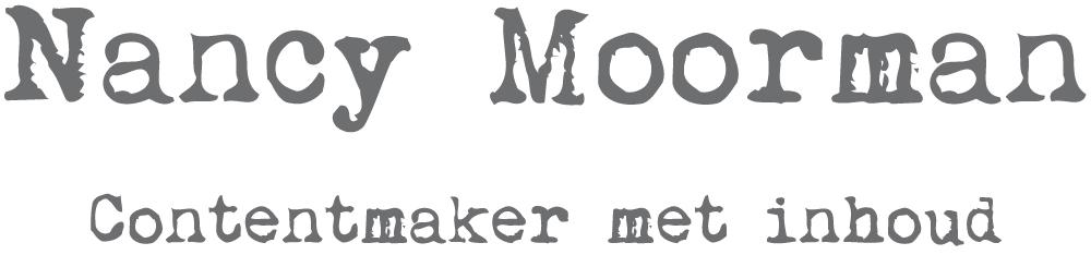 Nancy Moorman Contentmaker met inhoud - Den Haag - logo