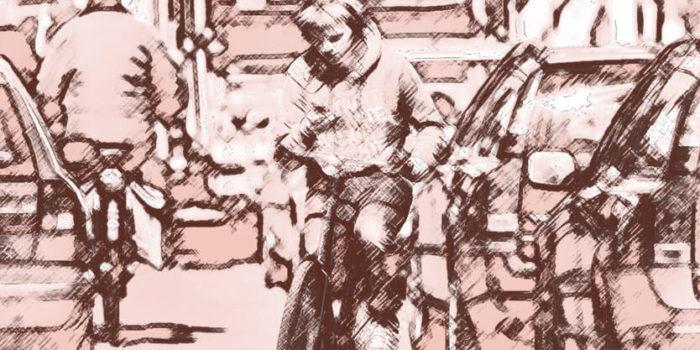 Beeld bij blog: Telefoon gebruik in verkeer is gewoon asociaal blog Nancy Moorman - Den Haag
