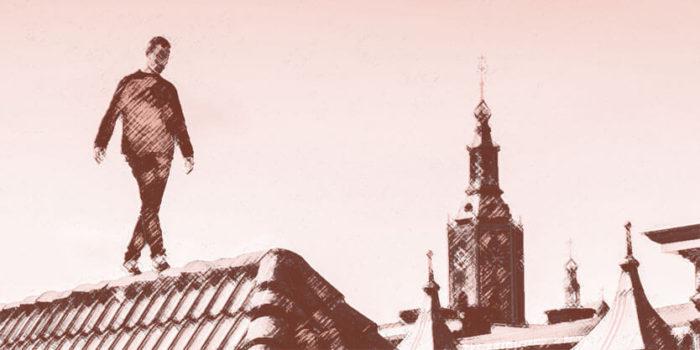 Beeld bij artikel: Jump freerunning - 1 - Nancy Moorman contentmaker met inhoud - Den Haag