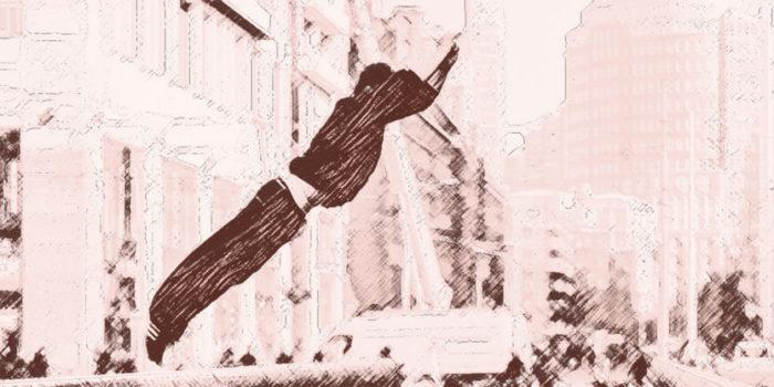 Beeld bij artikel: Jump freerunning - 3 - Nancy Moorman contentmaker met inhoud - Den Haag